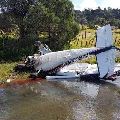 Se desploma avioneta en Sonora; mueren los tres tripulantes