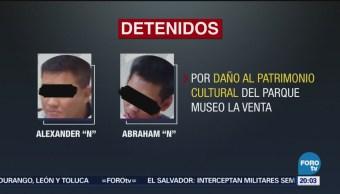 Detienen Extranjeros Por Daño Patrimonial Tabasco Museo