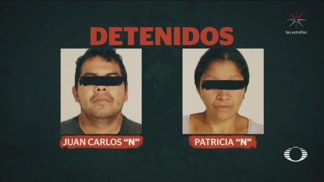 Detienen Pareja Acusada Feminicidios Estado De México