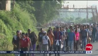 Detienen en Guatemala a organizador de caravana migrante