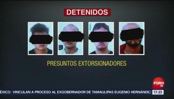 Caen Presuntos Extorsionadores Benito Juárez