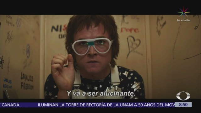 Difunden avance de la película sobre la vida de Elton John