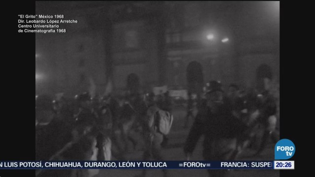 Documental El Grito Testimonio Fílmico Movimiento 68