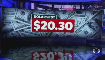 Dólar Cotiza Pesos Bmv Cierra Alza