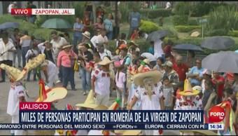 Dos millones de feligreses participaron en la romería de Zapopan