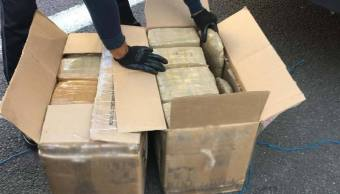 Droga en paquetería Jalisco; aseguran 150 kilos de marihuana