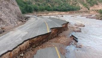 Declaran emergencia por lluvia severa para tres municipios de Durango