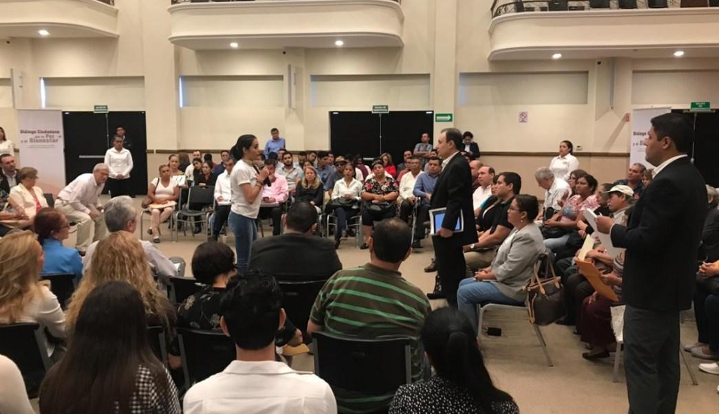 Durazo se reúne con familiares de víctimas del crimen en Tamaulipas