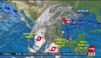 Efectos Willa Empiezan Sentirse Colima Jalisco Sinaloa