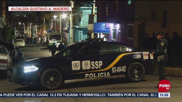 Ejecutan a dos personas en la alcaldía Gustavo A, Madero, CDMX