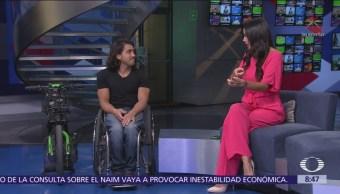 El atleta paralímpico Arly Velásquez Peñalosa se suma al Teletón