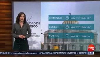 Clima Sábados De Foro Daniela Álvarez [13-10-18] El Clima De Sábados De Foro Con Daniela Álvarez [13-10-18]