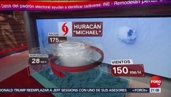 Devastador Paso Huracán 'Michael' Florida EU