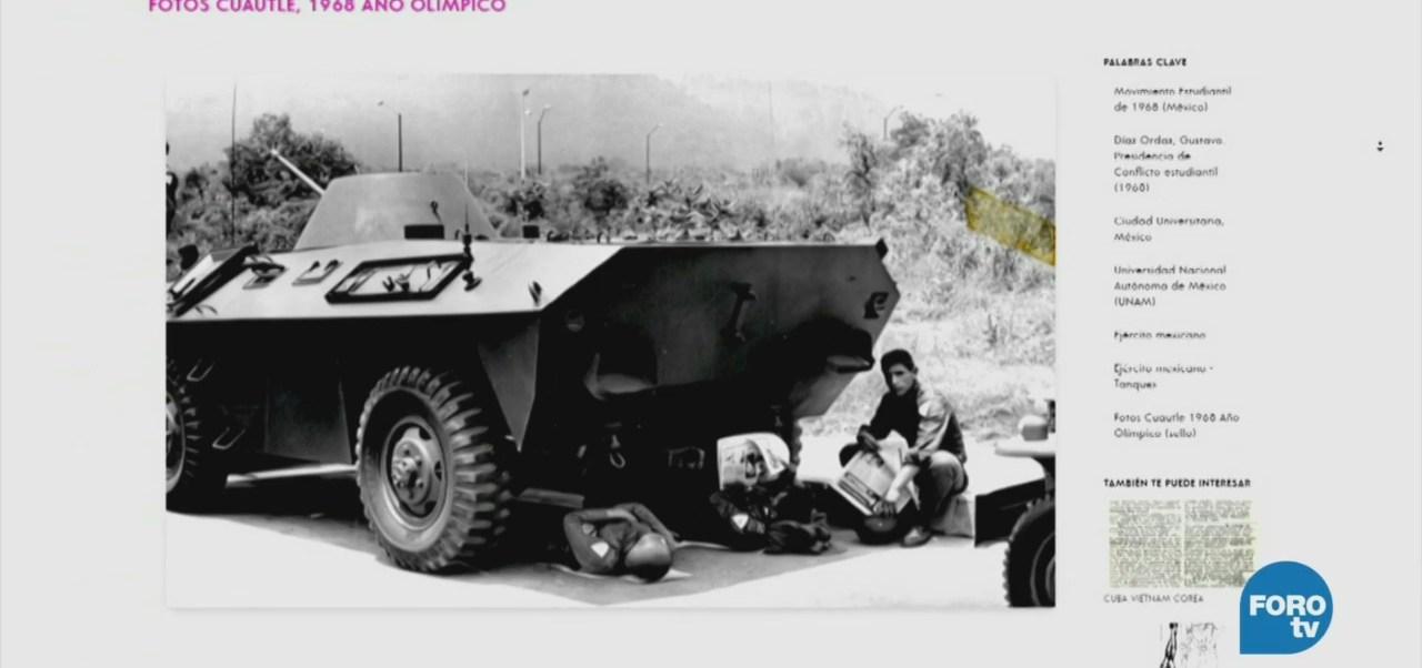Movimiento Estudiantil Del 68 Clic De Distancia Unam Conmemora Los 50 Años Plataforma En Línea 30 Colecciones De Fotografías Fotografías, Documentos, Entrevistas, Material Histórico, Movimientos Sociales, México Moderno