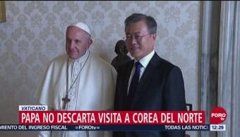El papa Francisco podría visitar Corea del Norte