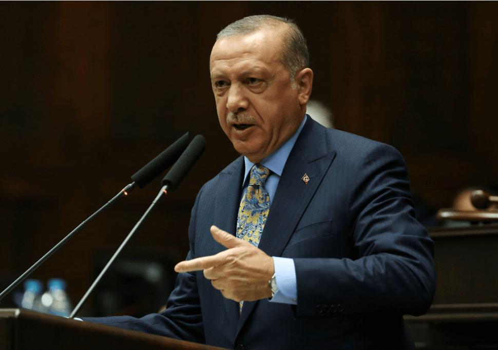 El presidente de Turquía, Recep Tayyip Erdogan. (AP)