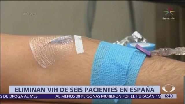 Eliminan VIH en 6 pacientes con trasplante de células madre