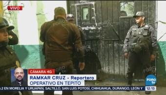 Encuentran droga en unidad habitacional de Tepito