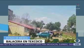 Enfrentamiento en Texcoco fue contra integrantes del CJNG