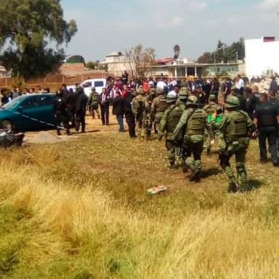 CJNG, detrás de enfrentamiento en Texcoco: Fiscalía mexiquense