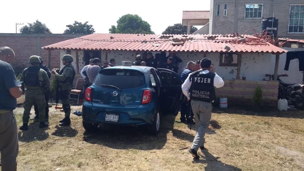 Enfrentamiento y balacera en Texcoco deja al menos cuatro muertos