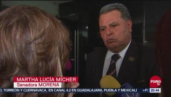 Protestas Violencia Familiar Noé Castañón Protesta Senador