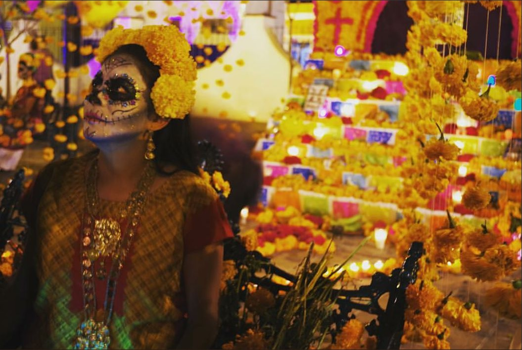 Etnias de México se reúnen en Guanajuato para celebrar Día de Muertos
