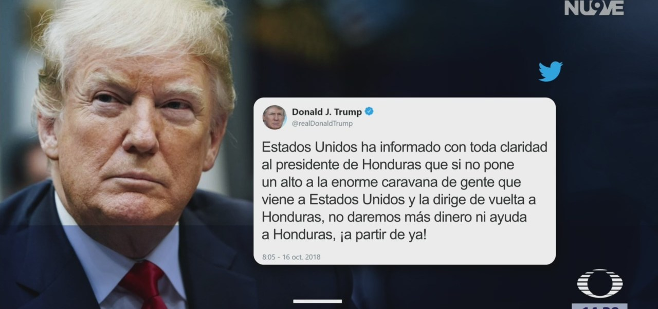 EU amenaza a Honduras si no frena caravana