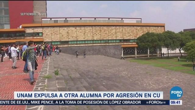 Expulsan a otra alumna por violencia en la UNAM