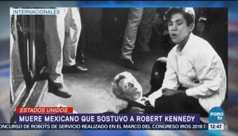 Fallece el mexicano que ayudó a Kennedy