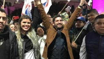 Dan triunfo a Felipe de Jesús Cantú, en Monterrey, NL