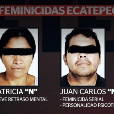 Feminicidas de Ecatepec, sin signos de arrepentimiento por sus crímenes: Fiscalía