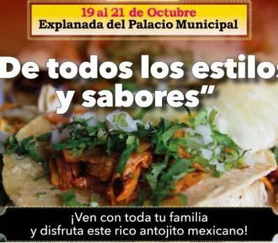 Anuncian Feria del Taco en Nezahualcóyotl