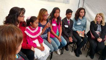 Niños y adolescentes participan en Foros de Pacificación