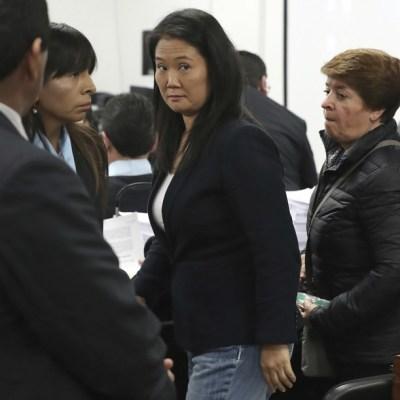 Dictan 3 años de prisión preventiva contra Keiko Fujimori por lavado de dinero