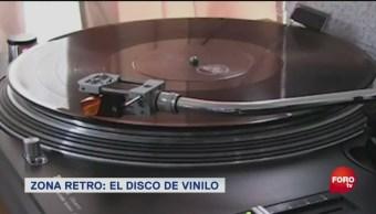Zona Retro El Disco Vinilo Disco De Vinilo Disco Gramofónico Medio De Almacenamiento De Sonido Analógico Disco De Policloruro De Vinilo Emile Berliner 1888