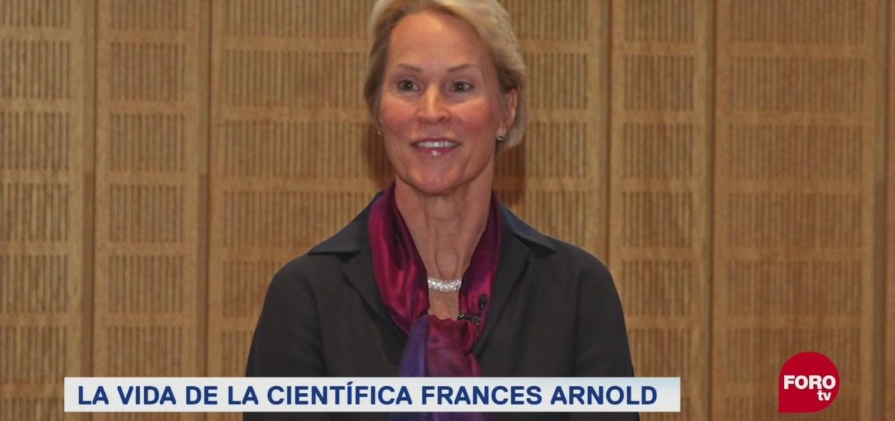 Frances Arnold Ganadora Premio Nobel de Química científica quinta mujer