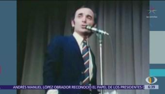 Francia está de luto tras muerte de Charles Aznavour