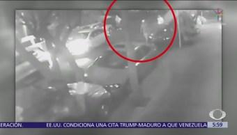 Frustran robo a automovilista en Iztacalco, CDMX