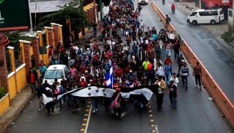 Fuerzas Federales no frenarán caravana migrantes