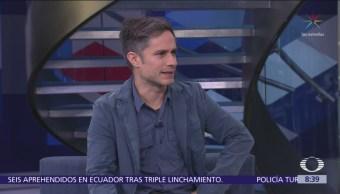 Gael García habla del estreno de la película 'Museo'