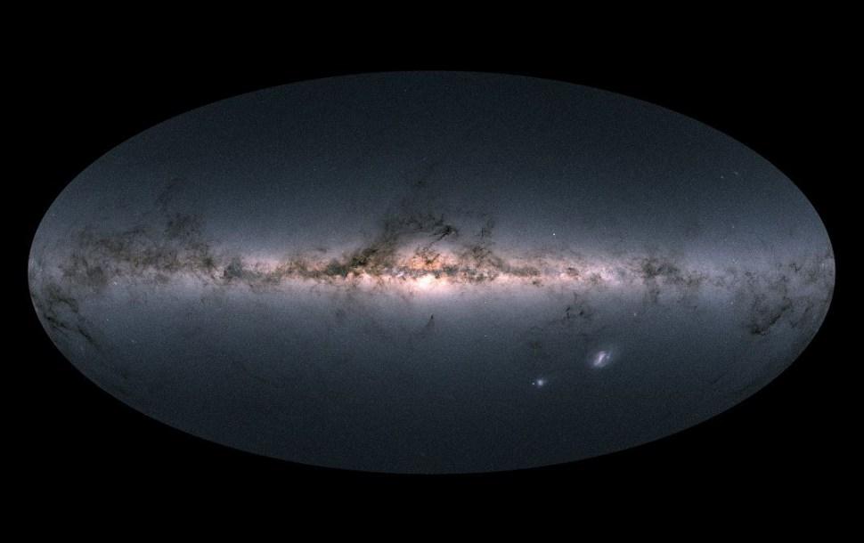 Descubren estrellas que podrían ser de otra galaxia