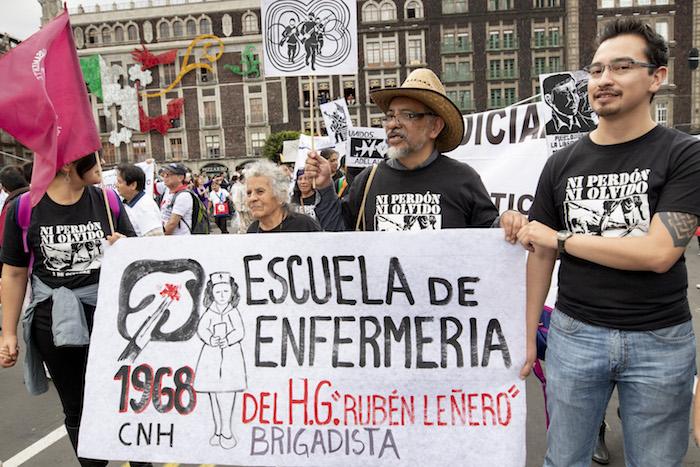 Galería Así vivió marcha conmemorar 2 octubre 68