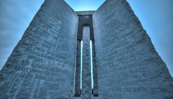 Existe Monumento Instrucciones Apocalipsis Piedras Guías Georgia
