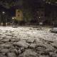 Tormenta con granizo azota a la capital italiana