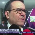 Guajardo descarta crisis económica por cancelación de aeropuerto en Texcoco