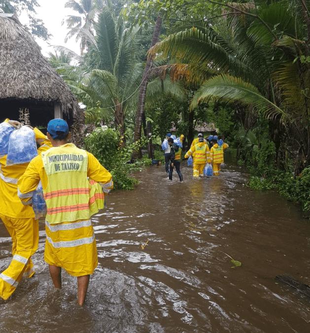 Guatemala, afectada por inundaciones. (@ConredGuatemala)