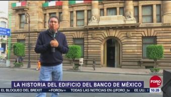 Historia del edificio del Banco de México