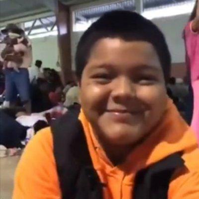 Video: Niño de 12 años viaja solo en Caravana Migrante; quiere estudiar