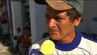 Hondureño miembro de la caravana migrante pierde hijo en Tapachula